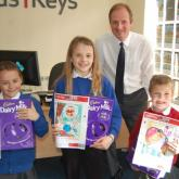 Arnolds Keys North Walsham Easter Egg winners 2015 620x411