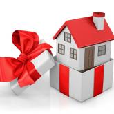 Christmas present house right online