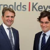 New Arnolds Keys partner Nick Williams right with managing partner Guy Gowing web