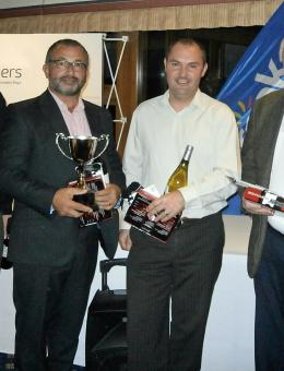 The team from Ashton KCJ winners of the Arnolds Keys Golf Day